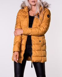 North Nylon Coat Golden Yellow
