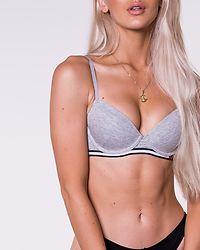 Modern T-Shirt Bra Grey Heather
