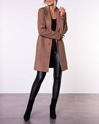 Carrie Bonded Coat Woodsmoke/Melange