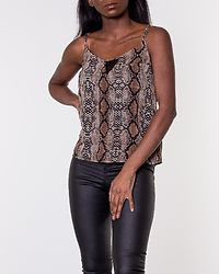 Mia Snake Top Black/Neutral Snake