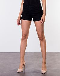 Be Lucy Fold Shorts Black