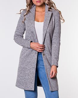 Carrie Mel Coat Light Grey Melange