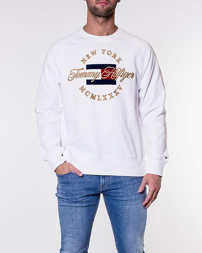 Icon Artwork Sweatshirt Bright White. L XL. Tommy Hilfiger 66bbccedd0
