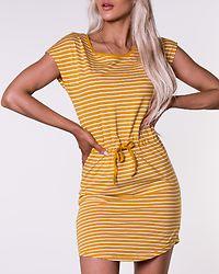 May Life Dress Mango Mojito/Thin Stripe