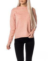 Rana O-Neck Blouse Misty Rose