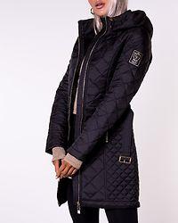 Sarraceno Quilted Jacket Black
