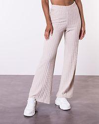 Tilda High Waist Pant Creme Brulee/Melange