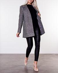 Jessi Medi Coat Medium Grey Melange