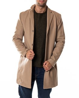 Brove Wool Coat Sand