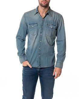 Classic Shirt Slow Blue