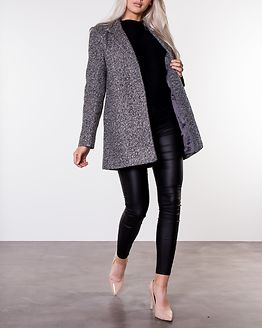 Jessi Medi Coat Medium Grey Melange
