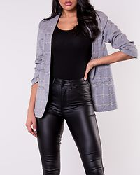 Alivia 3/4 Blazer Brown Sugar/Black