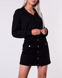 Grace V-Neck Shirt Black