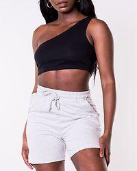 Octavia Sweat Shorts Light Grey Melange