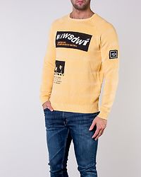 Pixam Structure Printed Knit Spectra Yellow