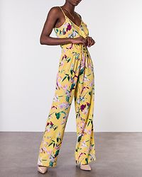 Simply Easy Strap Jumpsuit Yarrow/Trille