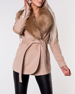 Verona Short Coat Camel