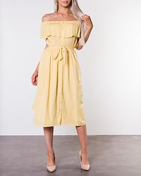Jaqline Offshoulder Dress Light Yellow