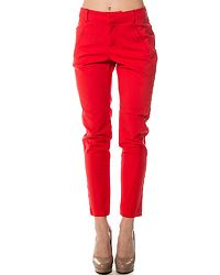 Victoria Antifit Ankle Pants Poppy Red
