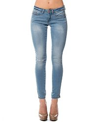 Eve Ankle Jeans Light Blue Denim