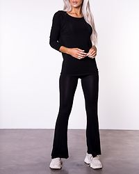 Glamour 3/4 Top Black
