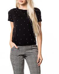 Hilda Top Black/Pearls