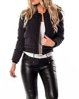 Aida Short Hooded Jacket Black