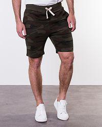 Basic Sweat Shorts Duck Green
