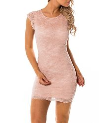 Sandra Capsleeve Dress Sepia Rose