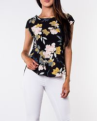 Vic Top Black/Faye Flower