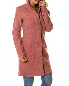 Alanis Coat Ash Rose