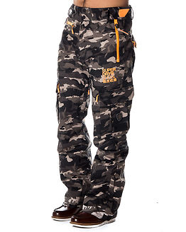Ultimate Snow Pant Black Ice Camo