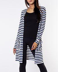 Kia Honie Stripe Cardigan Birch/Blue/Black/Oatmeal