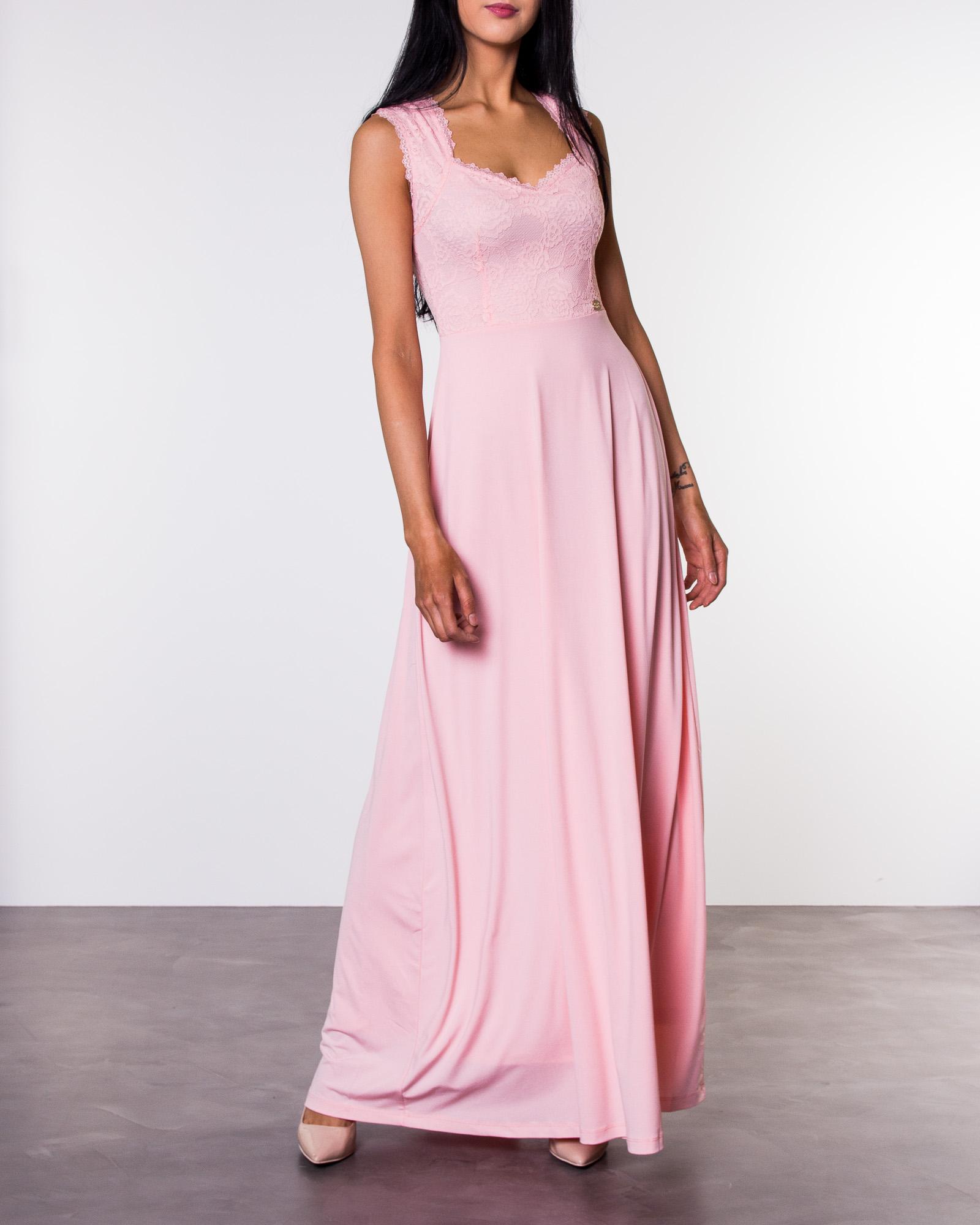 1732d483 Chiara Forthi, Piubella Maxi Dress Rosa   Dresses   HOUSEOFBRANDON.COM