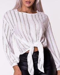 Piline L/S T-shirt Cloud Dancer