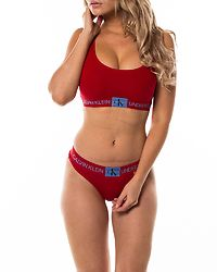 Rym Unlined Bralette Manic Red