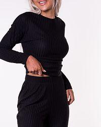 Dina O-Neck Top Black