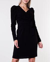 Finula Wrap Dress Black