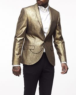 Kaffier Jacket Gold With Gunmetal