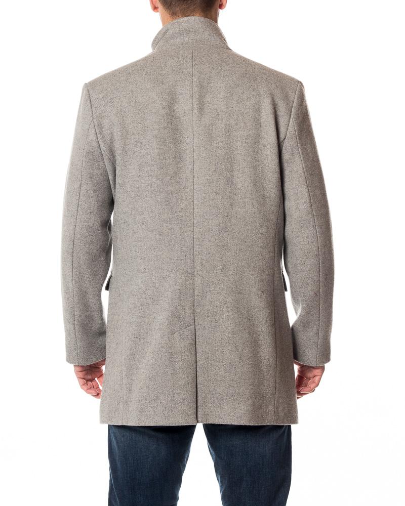 Selected Homme Mosto Wool Coat Light Grey Melange Men S Jackets Houseofbrandon Com