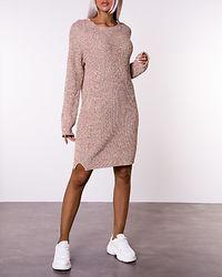 Siesta O-Neck Knit Dress Nomad