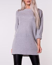 Elsie Knitted Sweater Grey