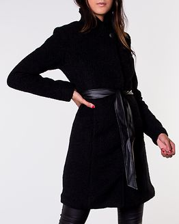 Tuva Wool Coat Black