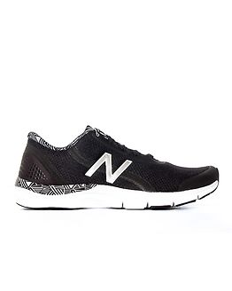 711 Lace Up Sneakers Black/White