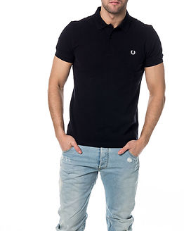 Slim Fit Twin Tipped Shirt Navy