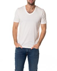 The Perfect V-Neck Tee Bright White