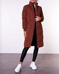 Noble X-Long Collar Jacket Cherry Mahogany