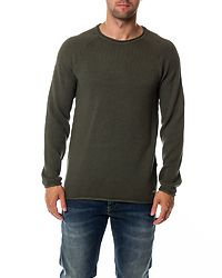 Phil Knit Crew Neck Thyme