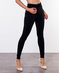 Callie High Waist Skinny Jeans Black Denim