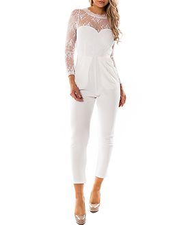 Amilia Jumpsuit White